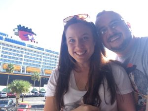 Happiest Traveling Jaime & Gary with the Disney Dream