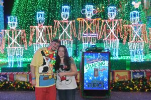 Happiest Traveling Jaime & Gary at Osborne Lights