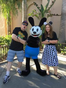 Happiest Traveling Jaime & Gary with Oswald