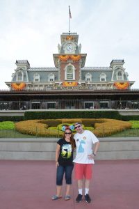 Happiest Traveling Jaime & Gary at Magic Kingdom