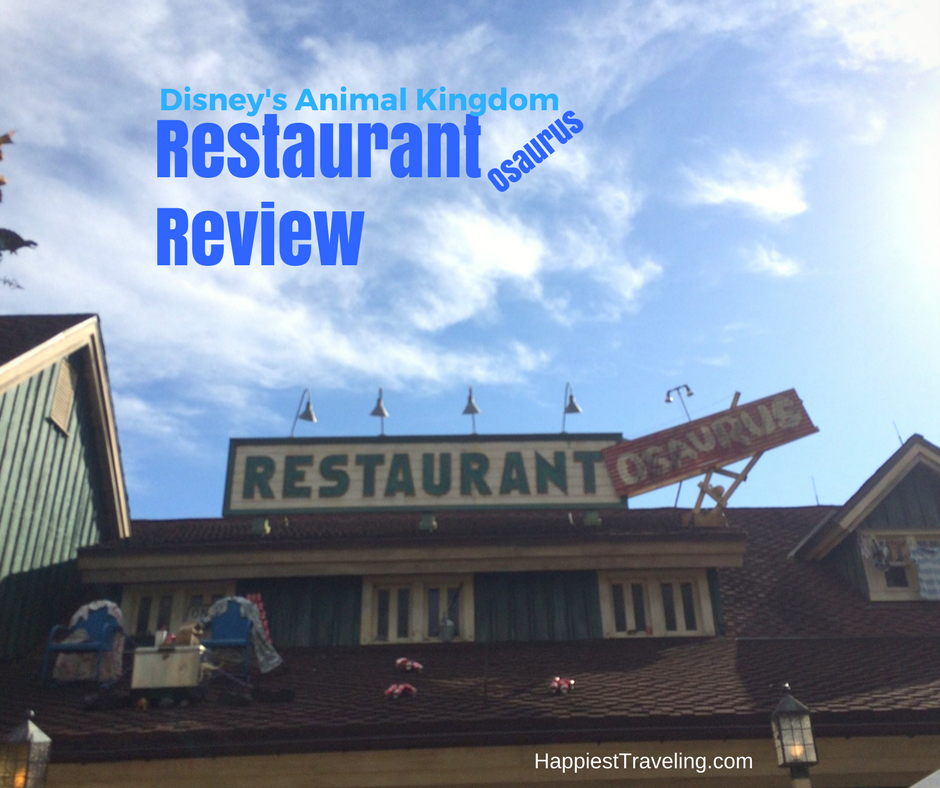 Restaurantosaurus at Disney's Animal Kingdom Park
