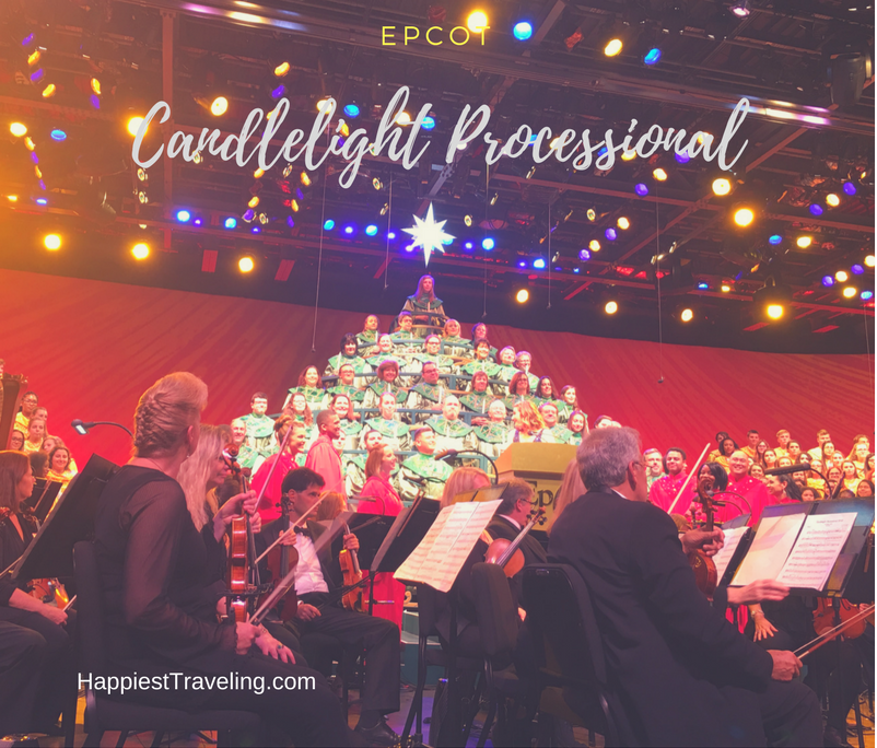 Epcot Candlelight Processional Dining Package Tips: Happiest Traveling