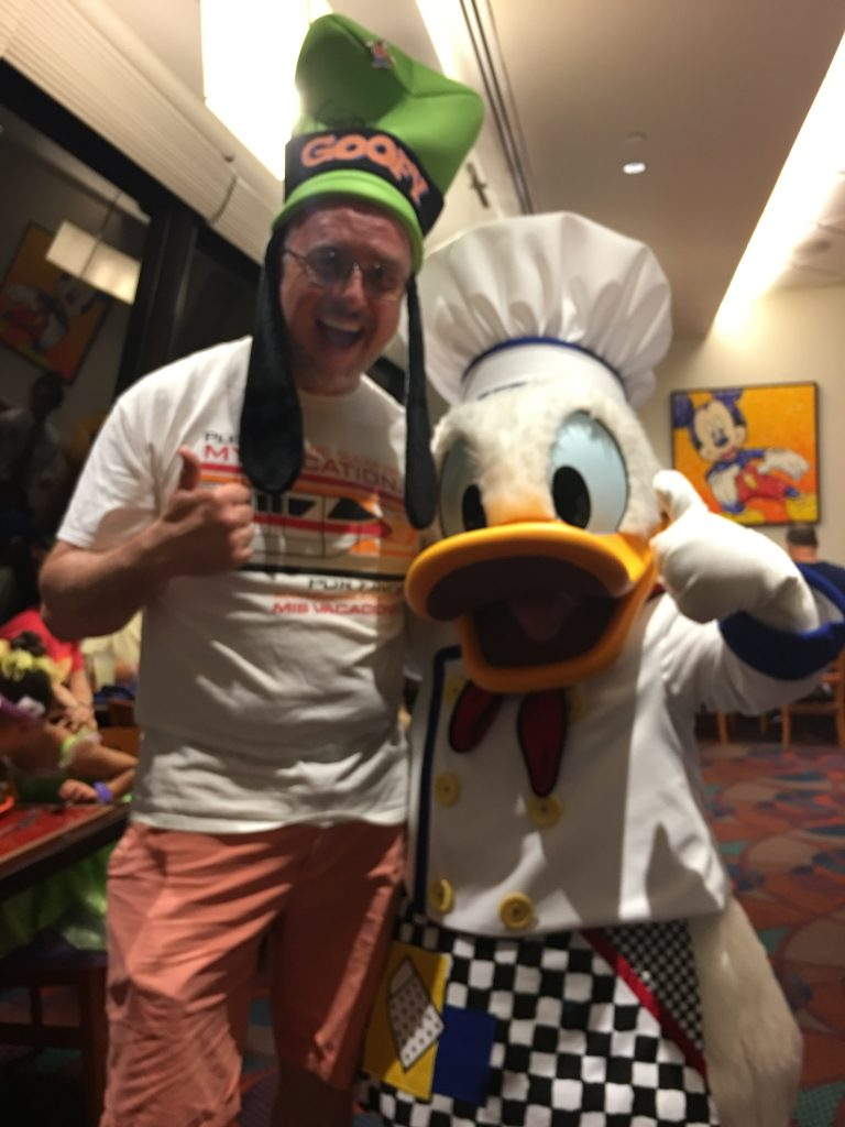 Chef Mickey's Gary with Donald