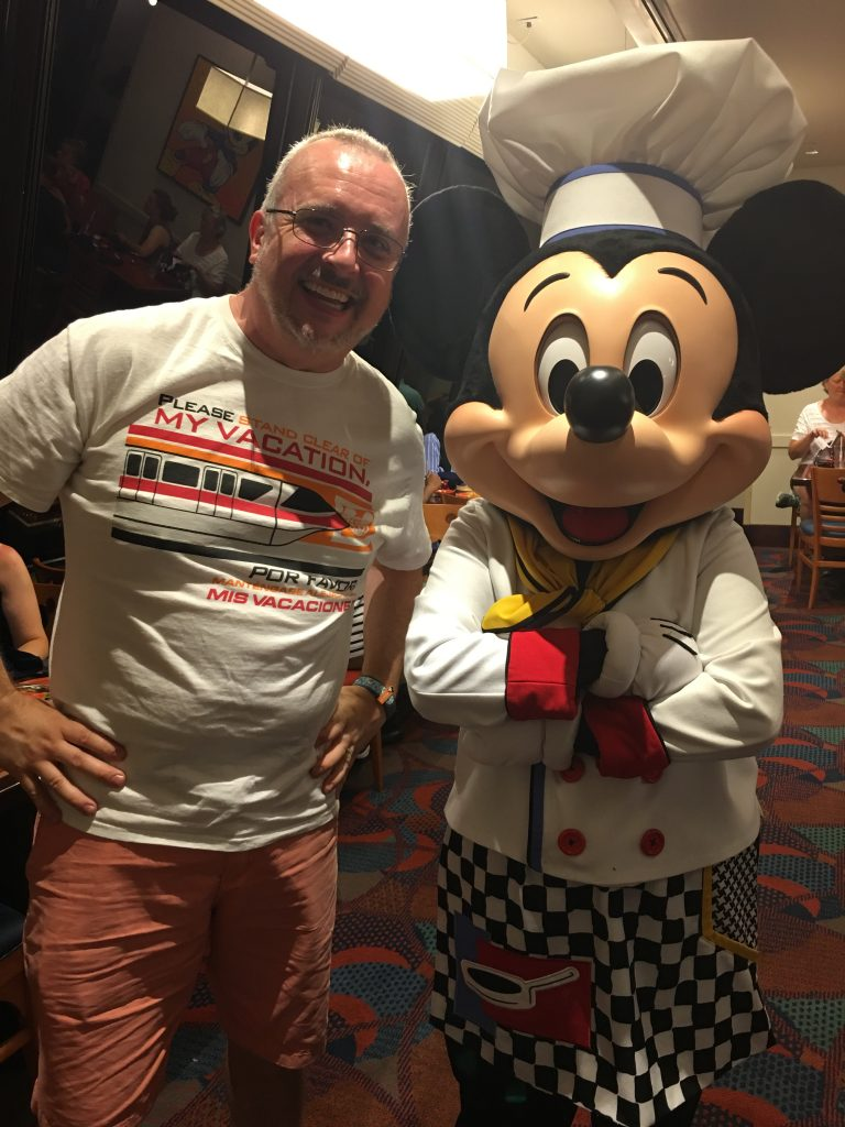 Gary with Chef Mickey