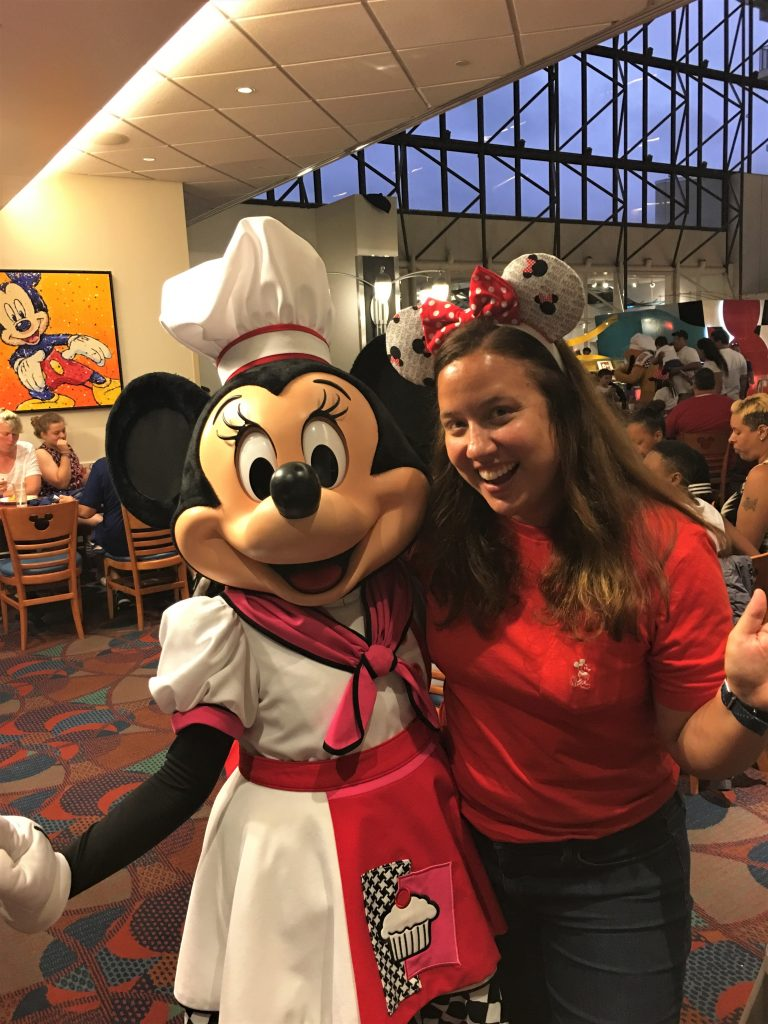 Chef Mickey's Minnie and Jaime