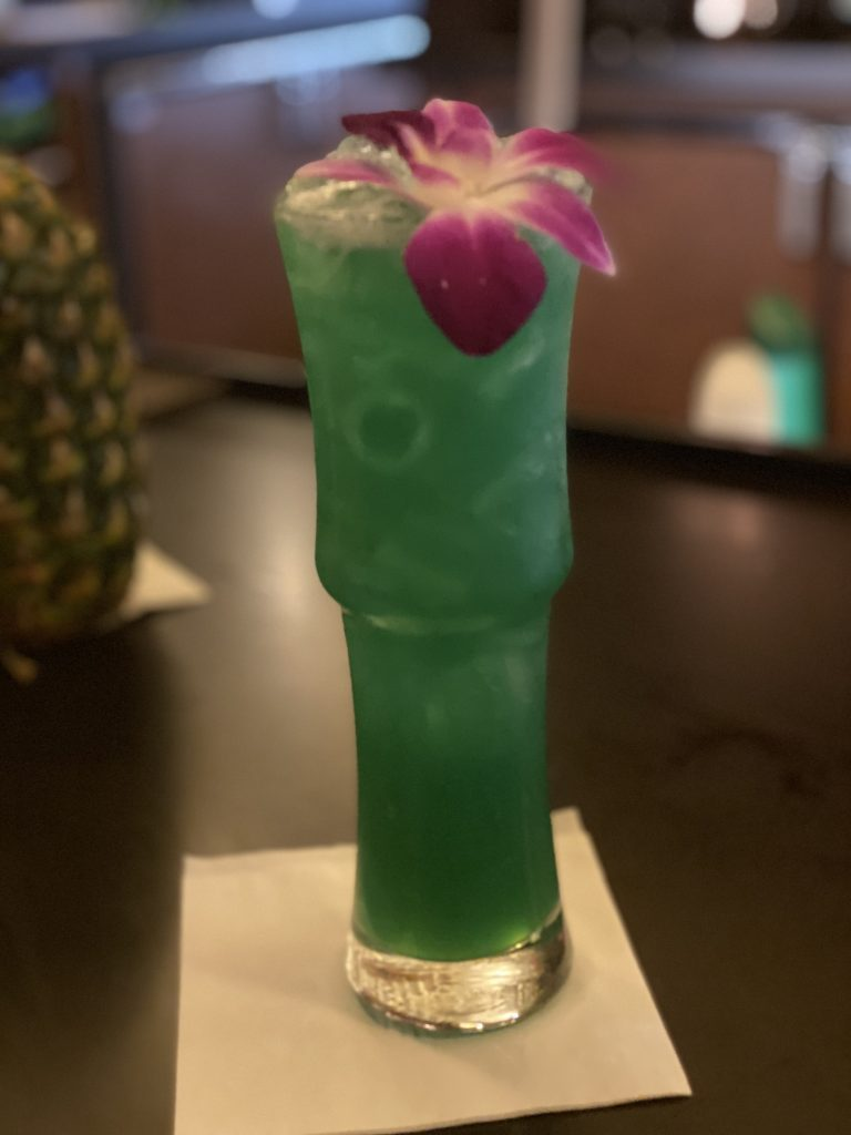 Tiki Ehiku at Tambu Lounge