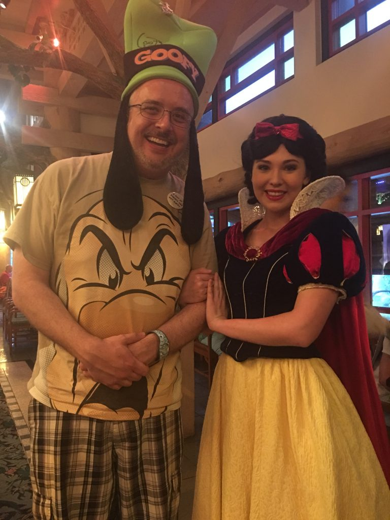 Gary with Snow White at Artist Point