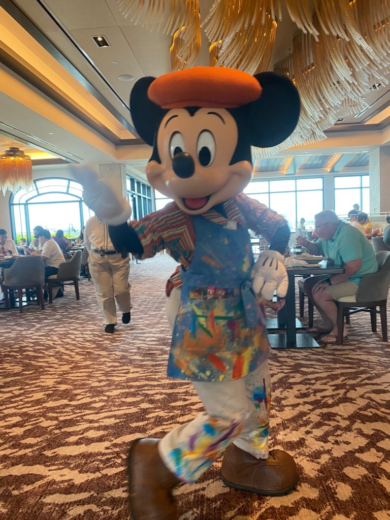 Mickey Mouse at Topolino's Terrace